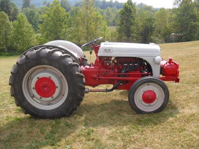 1946 Ford 2n Tractor With A Mustang 2 3l Engine Tractors 8n