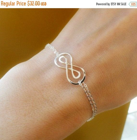 20 Off Silver Double Infinity Symbol By Briguyss On Etsy