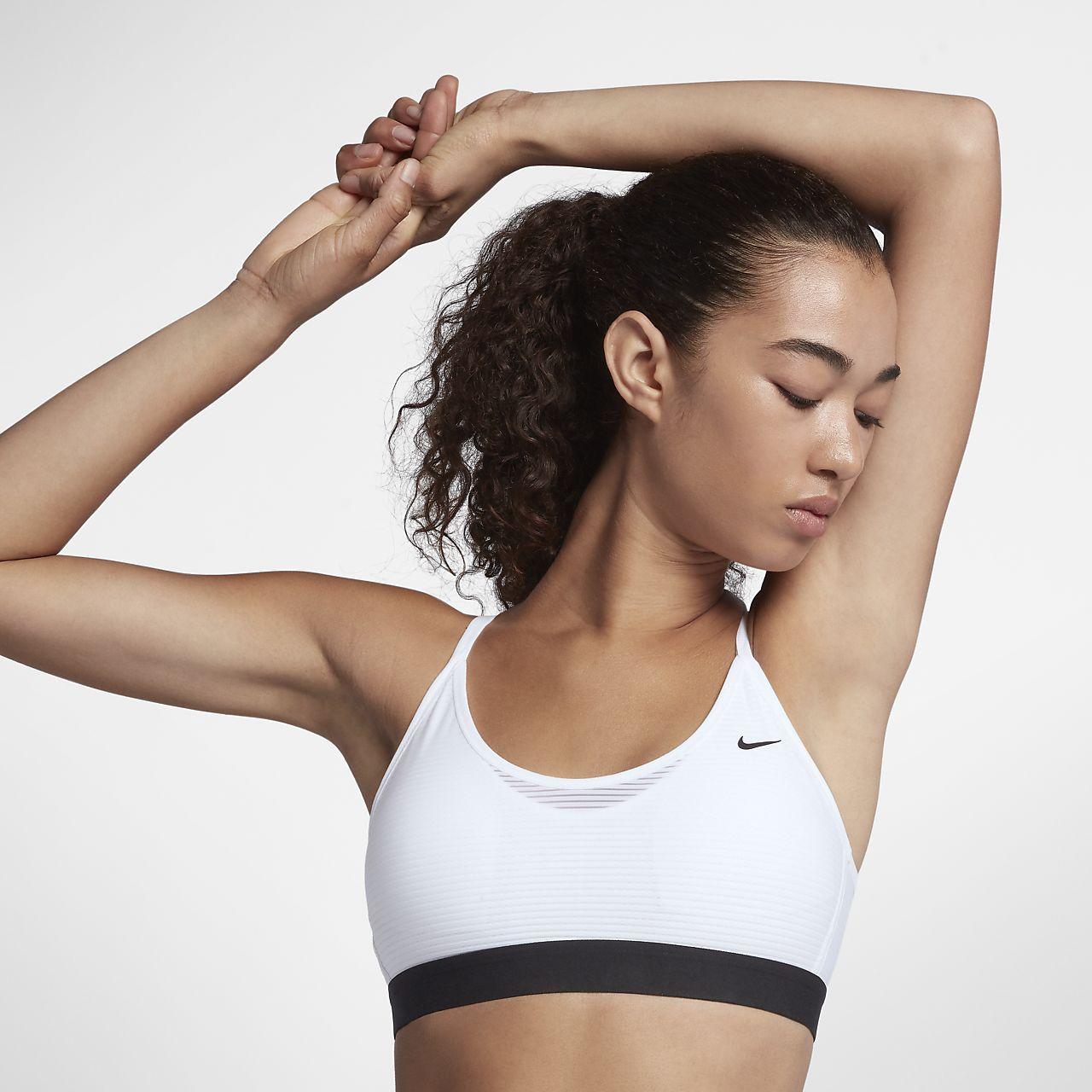 Nike Training Swoosh Mesh Bra Jd sports fashion