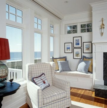 The Perfect Place To Sit And Read A Bookor Dream  Houzz Mesmerizing Coastal Design Living Room Inspiration