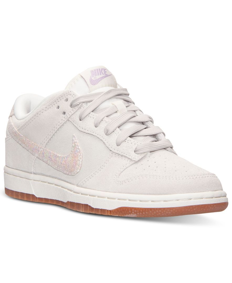 pretty nice 81b1e f1fe8 Nike Women s Dunk Low Skinny Casual Sneakers from Finish Line