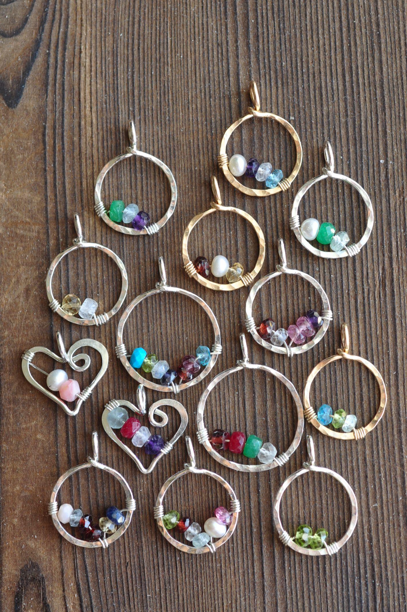 d8700c46d birthstone pendants for mom | Mu-Yin Jewelry | Full Time Etsy ...