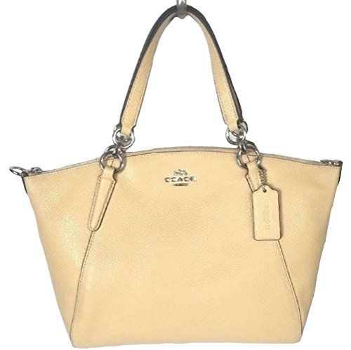 e7bb969417c9c  113.44 - Coach Leather Small Kelsey Cross Body Bag