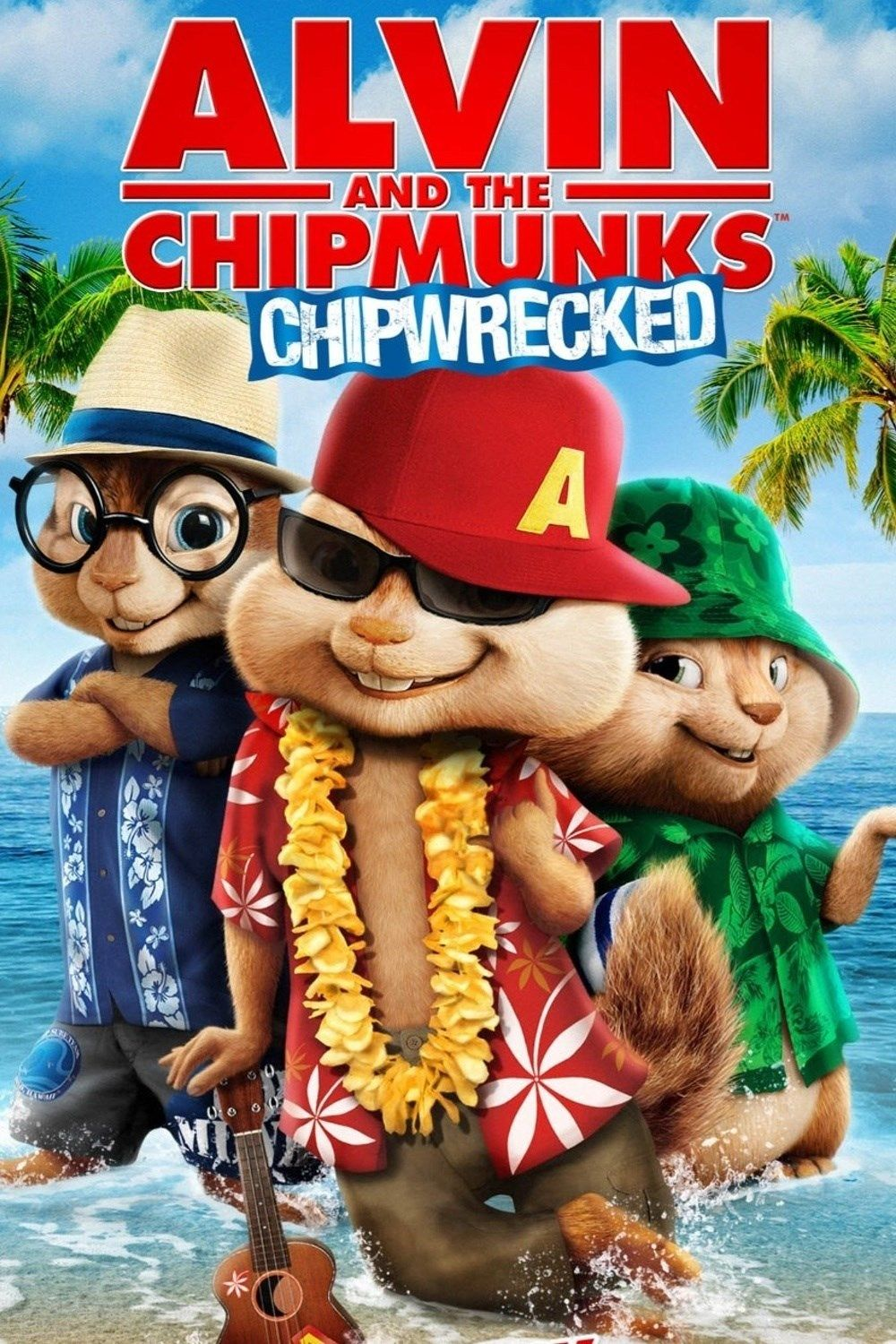 1256. Alvin and the Chipmunks: Chipwrecked, August, 2017. Dave ...
