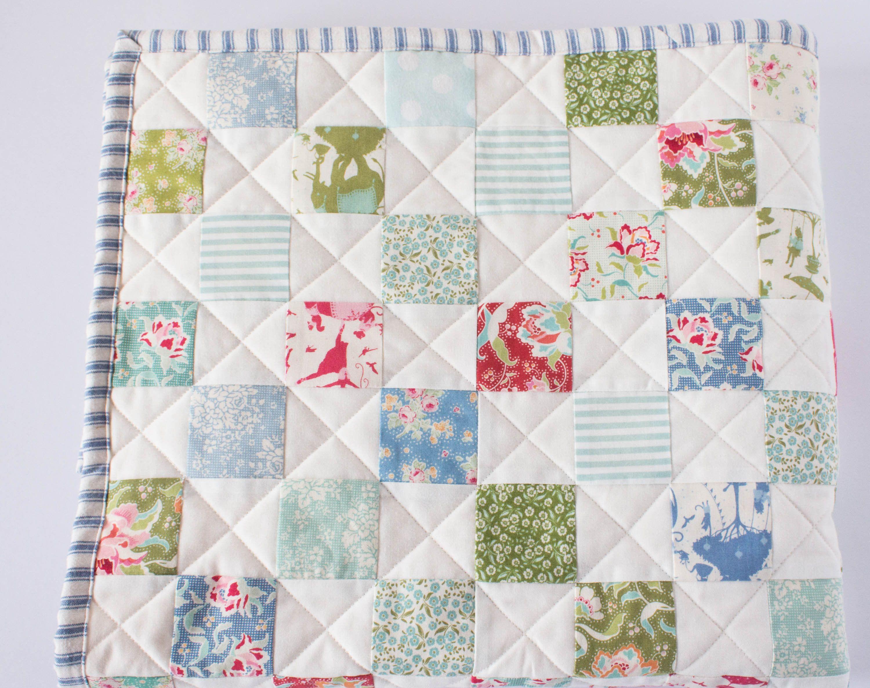 Baby Quilt Handmade.