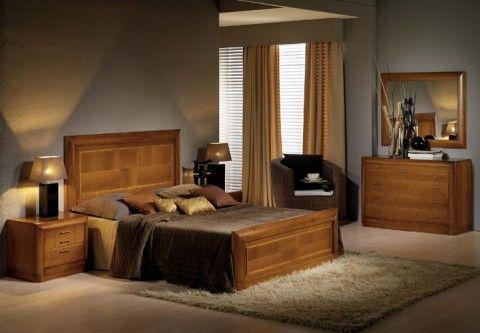 camas de madera matrimoniales rusticas - Buscar con Google | PARA LA ...