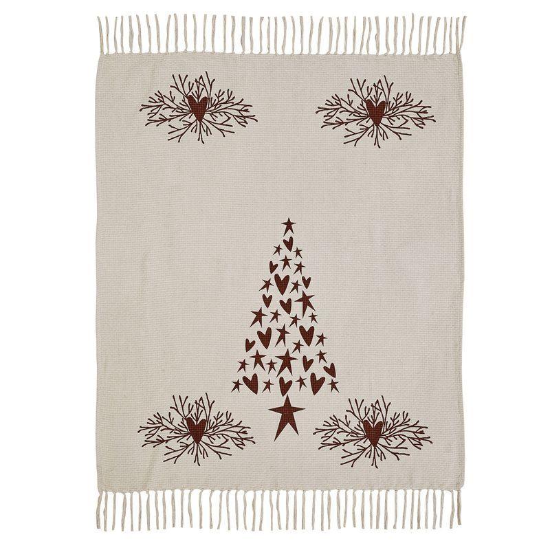 Heartfelt Holidays Woven Throw 60x50