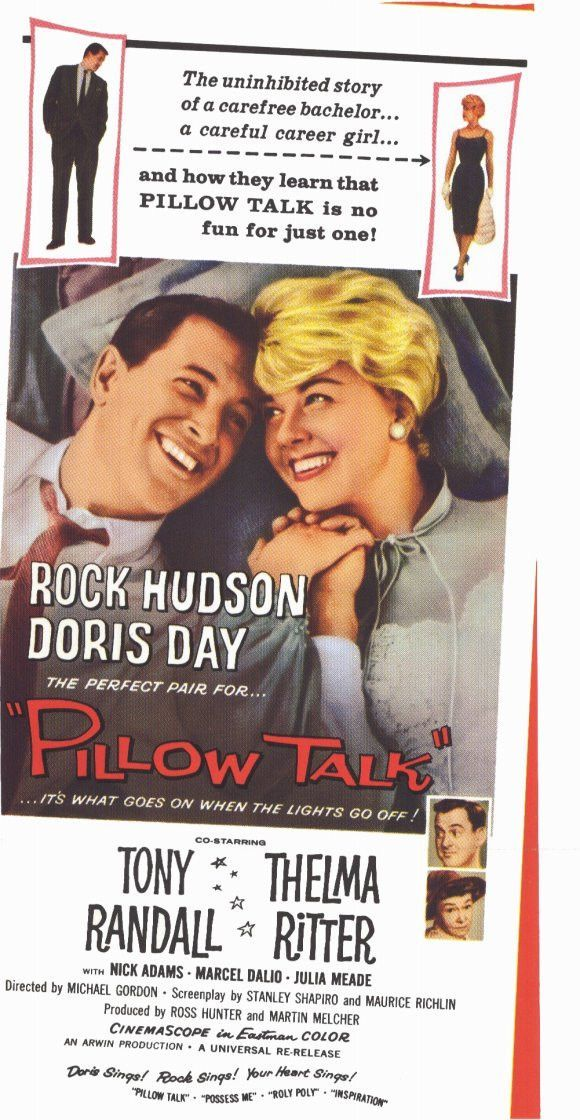 pillow talk 11x17 movie poster 1964 in 2018 my movies