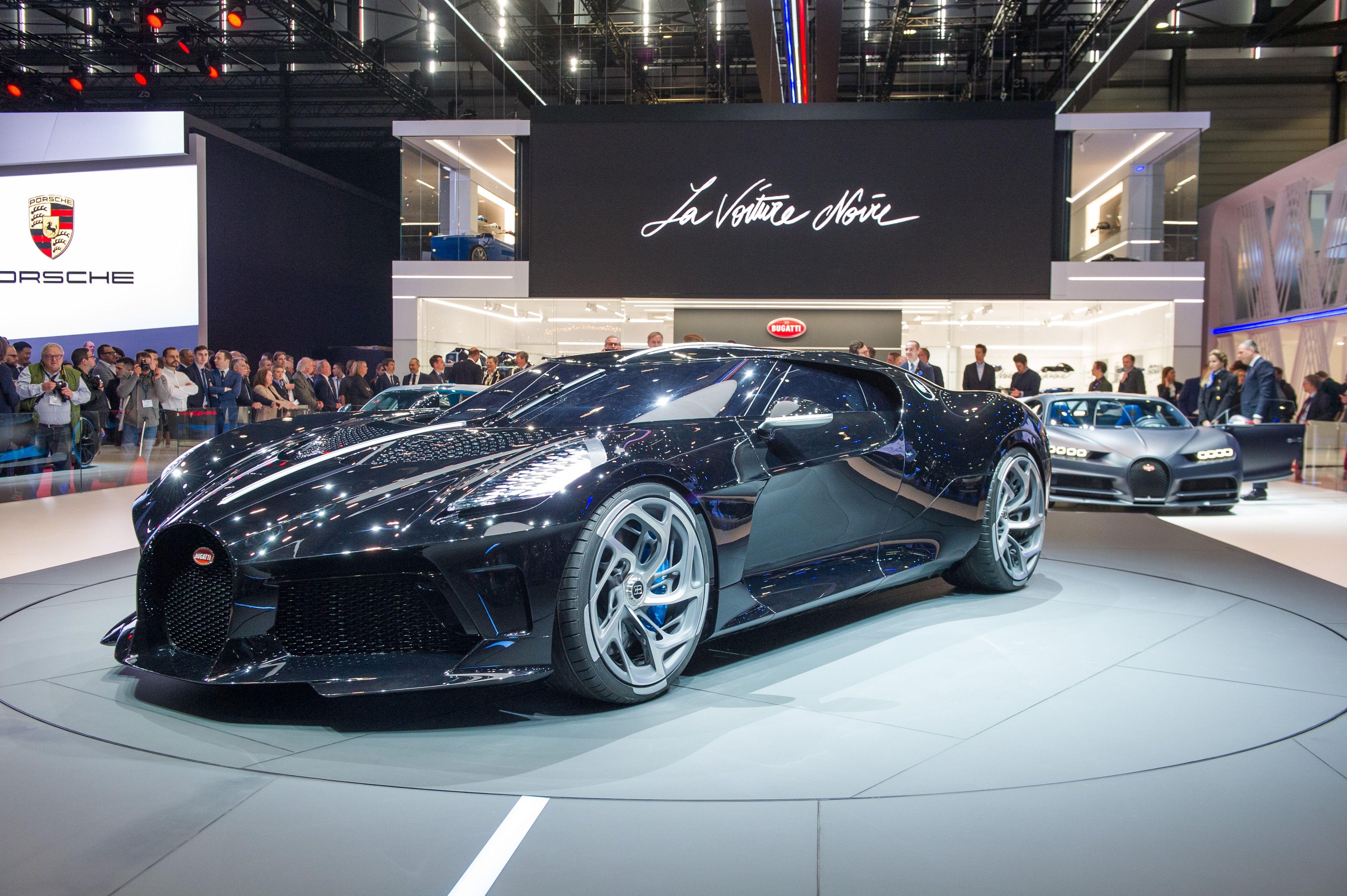 Geneva 2019 Bugatti La Voiture Noire Is The Most Expensive New Car Ever Bugatti New Cars Super Cars
