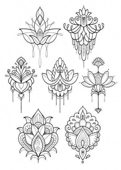 Notitle Mandala Mandala Notitle Tattoos Henna 12