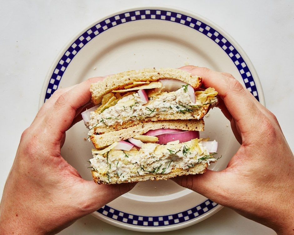 I have a deep love for chicken salad sandwiches ever