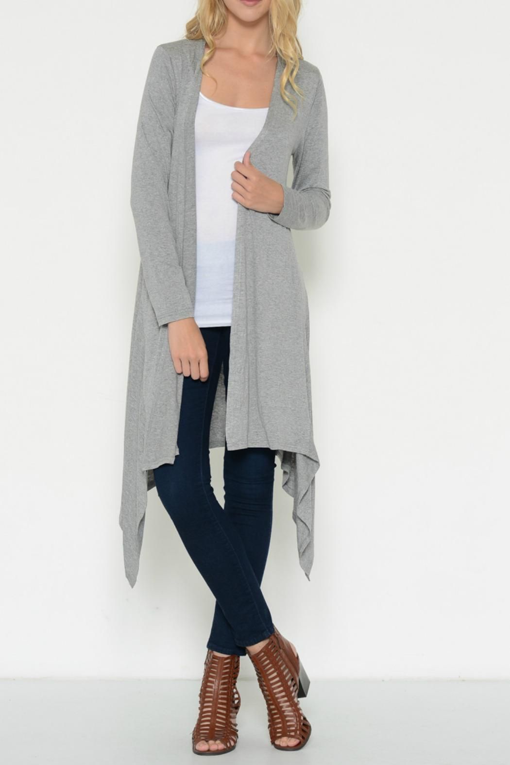 Esley Collection Long Lightweight Cardigan | Lightweight cardigan ...
