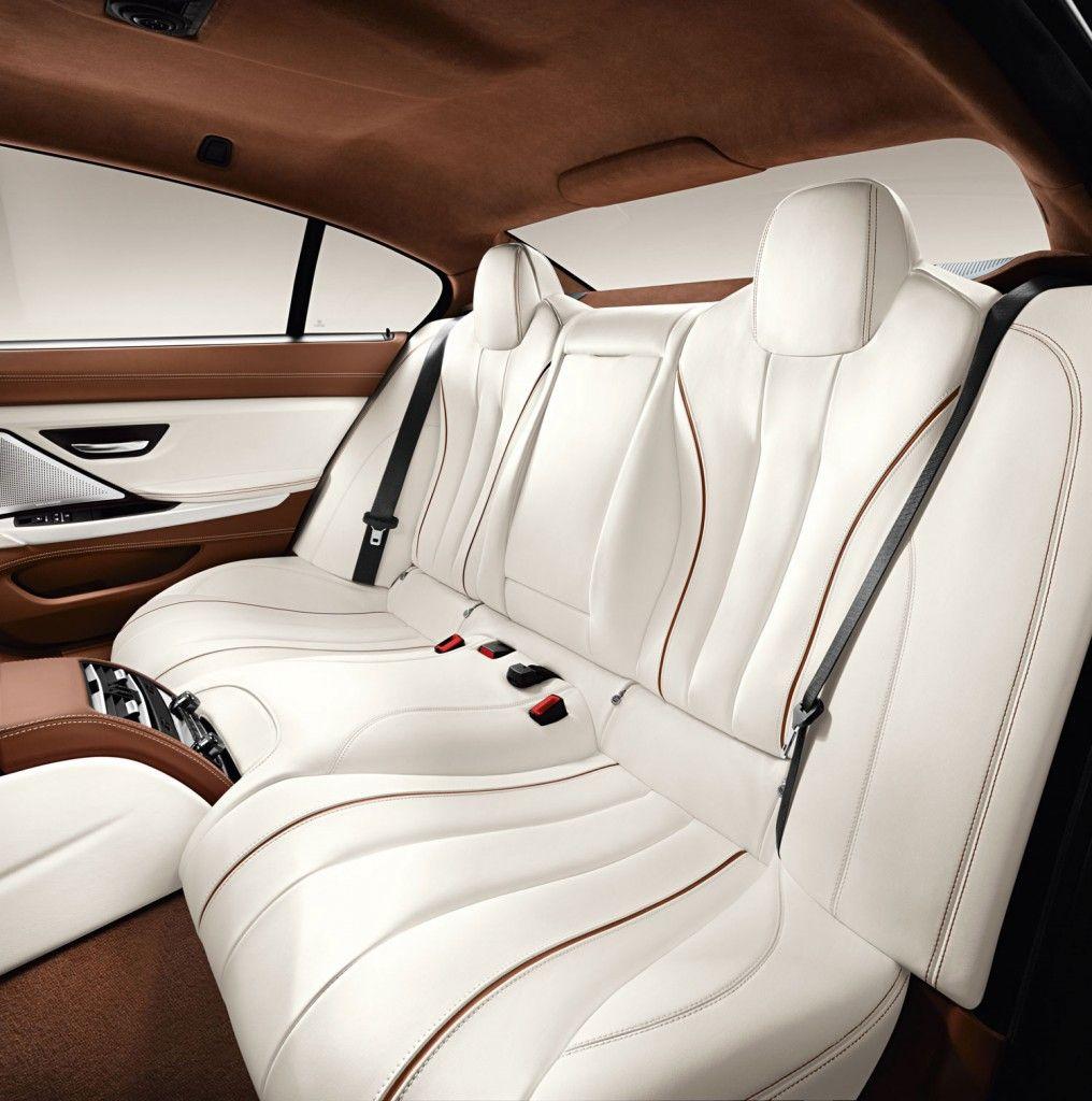 2013 Bmw 640i Gran Coupe Interior Individual Rear Seat Bmw 6