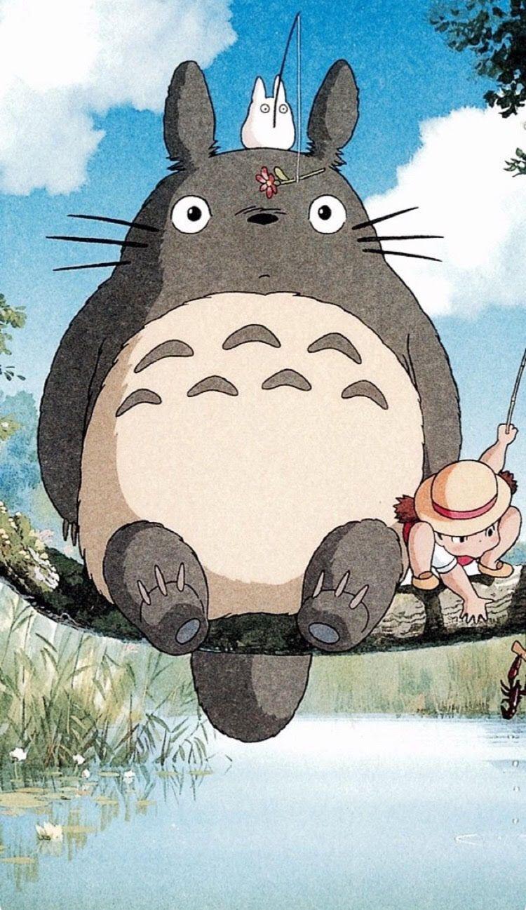 Cute My Neighbor Totoro iPhone 6 wallpaper Totoro art