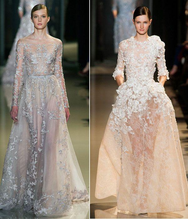 Vestidos de novia de Elie Saab 2013 #boda #vestidos | BODA ...