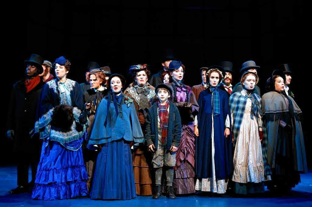 the london street ensemble in a christmas carol a syracuse