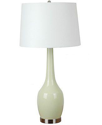Crestview table lamp monica green bedroom lighting for the home macys