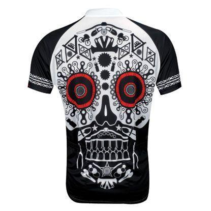 Primal Wear Grateful Dead Team Steal Your Face Sport Cut Full Zip Cycling Jersey
