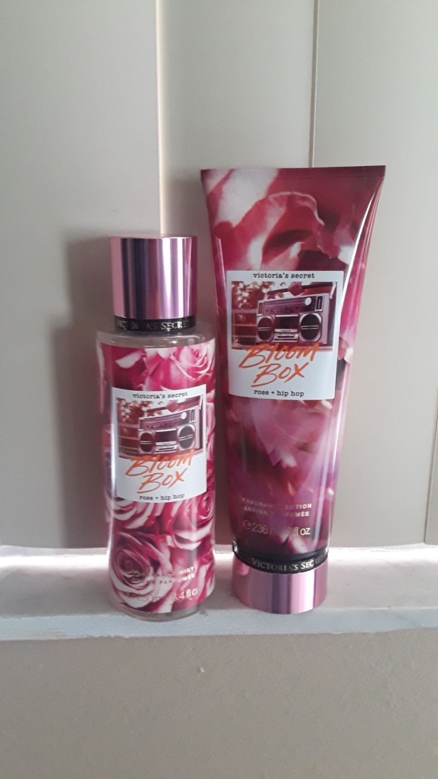 Victoria Secret New Collection Body Mist B.Lotion Hit the