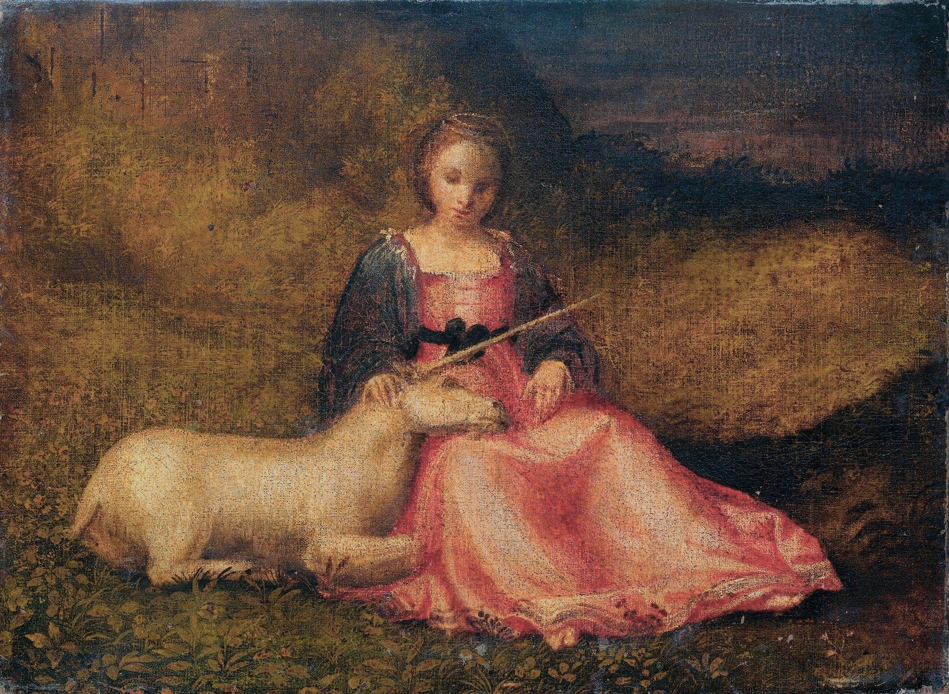 Worksheet Myth Of The Unicorn 1000 images about unicorn on pinterest a museums and giorgione allegory of chastity lady with 1500 amsterdam rijksmuseum