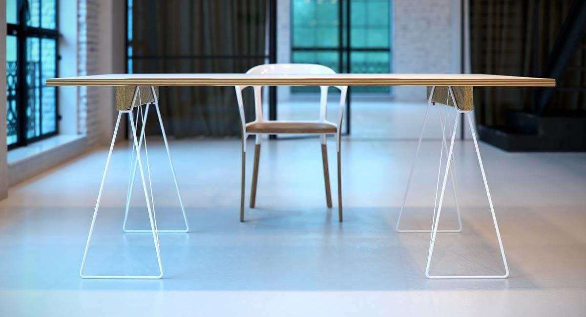 Tischbock draht 001 m bel deparso furniture for Design stuhl draht