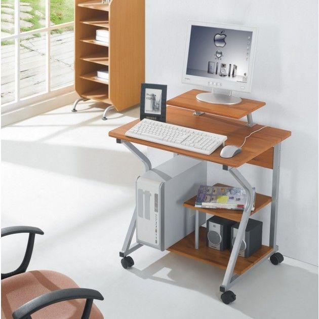 Scrivania per computer ufficio Compact 2 porta PC
