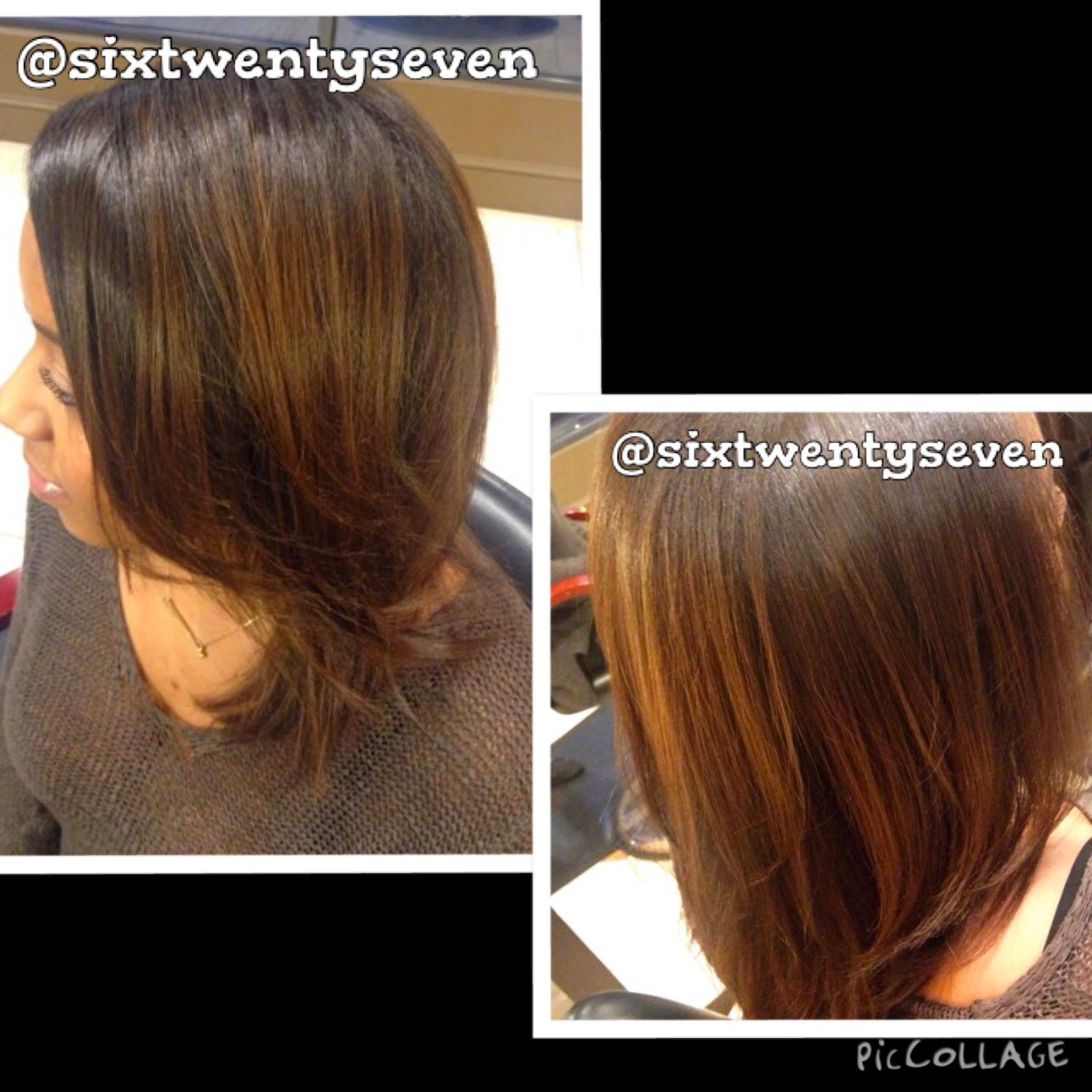 Six Twenty Seven: Balayage results on Natural, African-American Hair #africanamericanhair