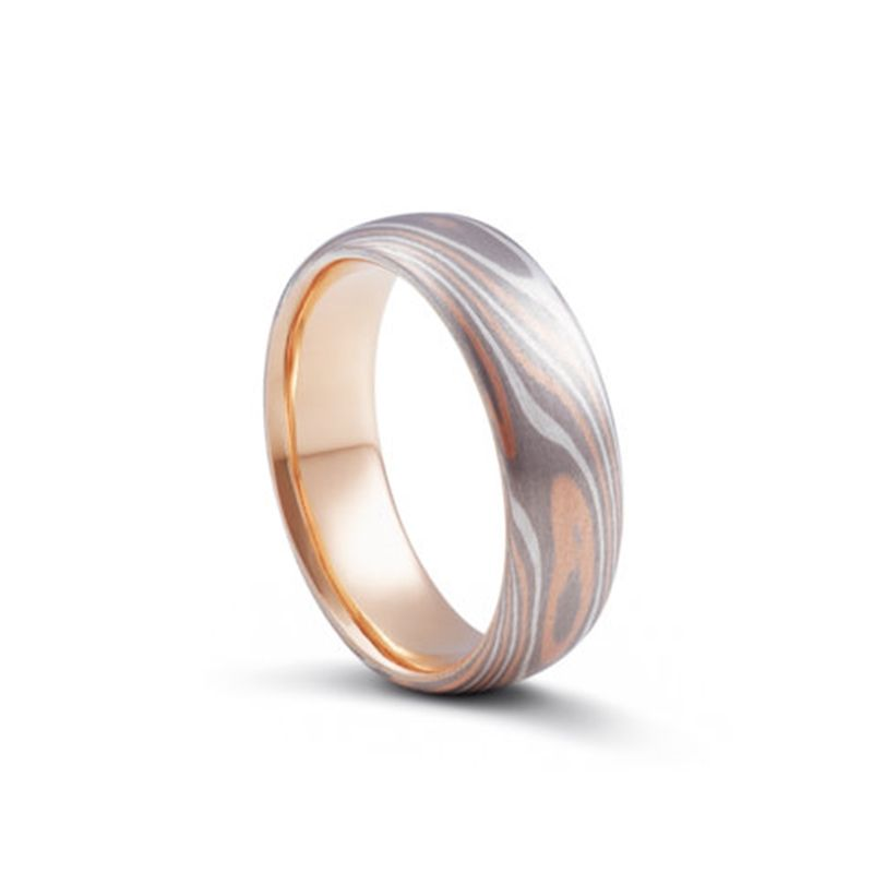 Mokume Gane Jason Ree Wedding Rings Sydney Custom Handmade or