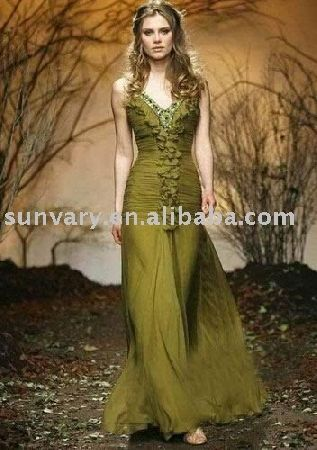 Olive Green And Gold Prom Dresses Cincinnati Wedding