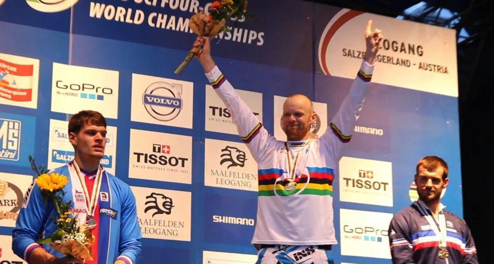VIDEO Joost Wichman – 2013 UCI Fourcross World Champion