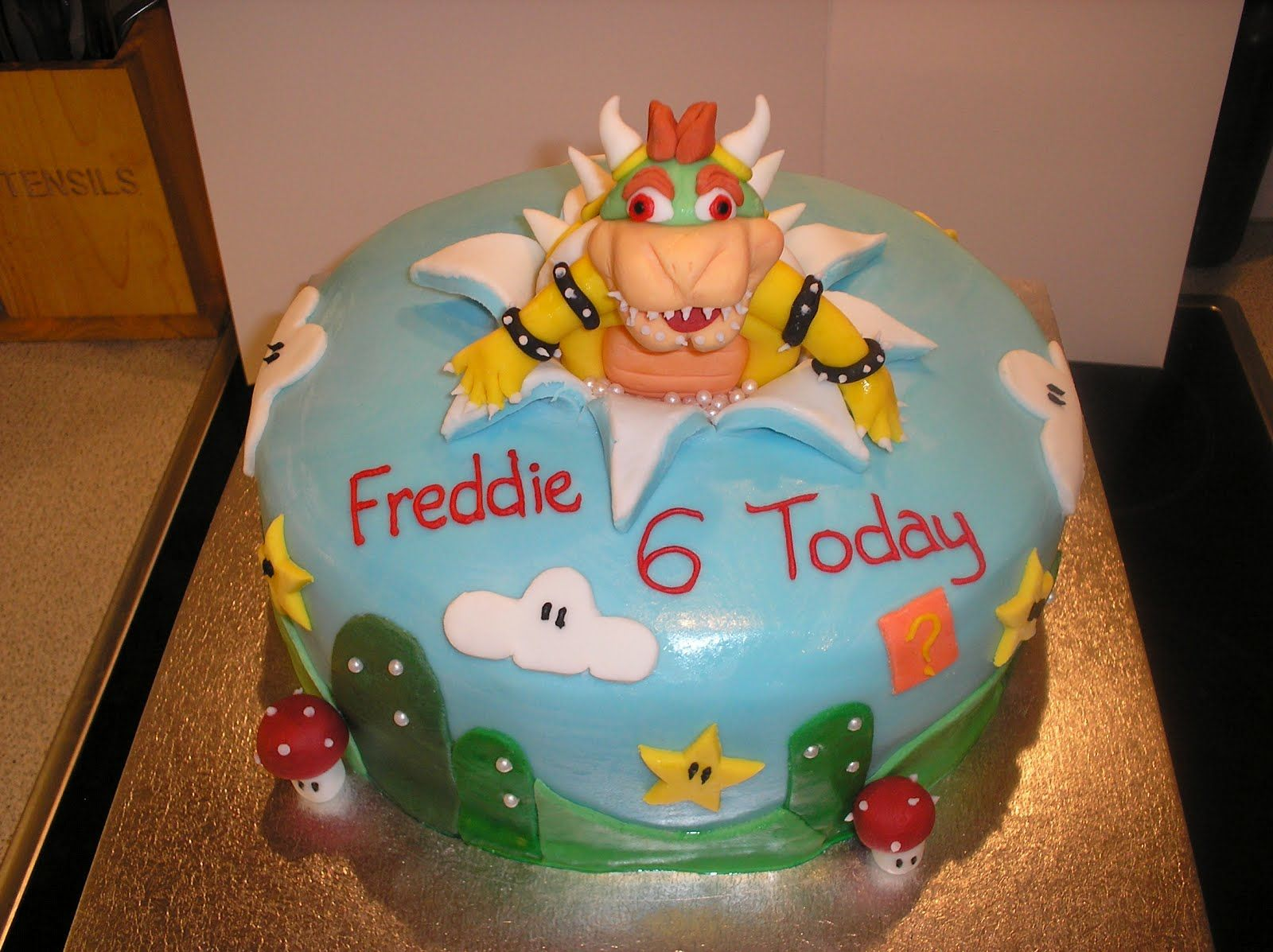 Nickys Cakes Bowser Cake Bowser Birthday Pinterest Bowser - Bowser birthday cake