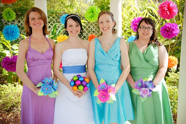 Go Green With Flowerless Diy Wedding Bouquets