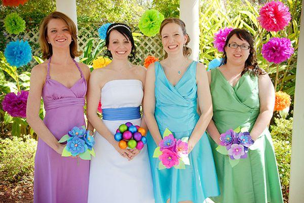 Go green with flowerless diy wedding bouquets diy wedding go green with flowerless diy wedding bouquets solutioingenieria Gallery