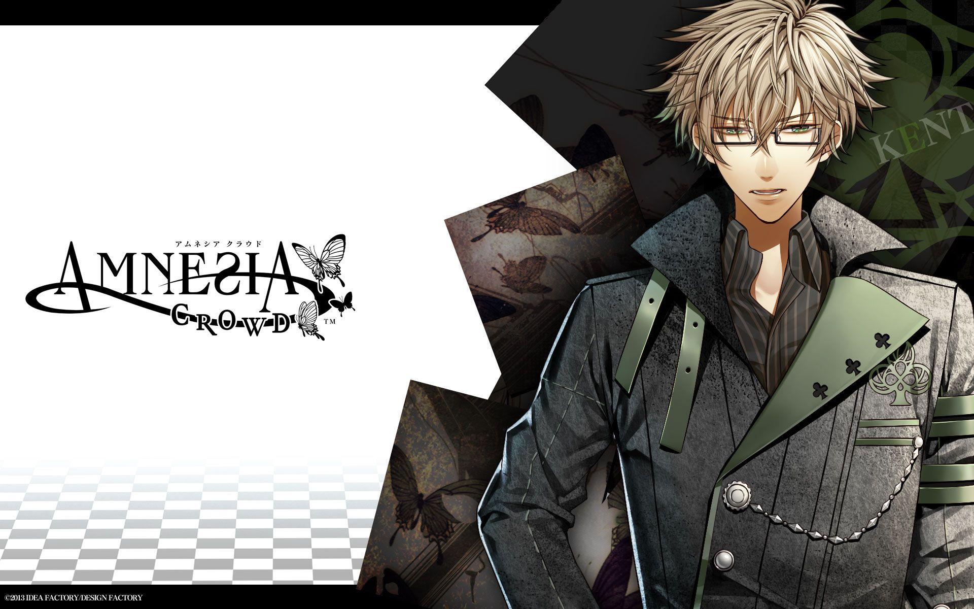 Tags: Wallpaper, IDEA FACTORY, Official Art, AMNESIA, Kent (AMNESIA)