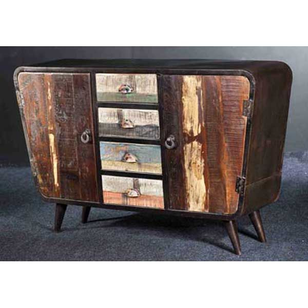 Mid Century Modern Rustic Sideboard