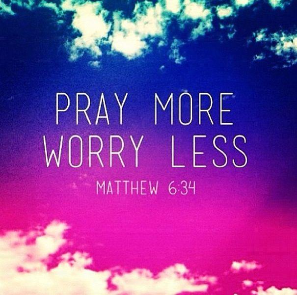 Pray more, worry less Christian wallpaper, Christian