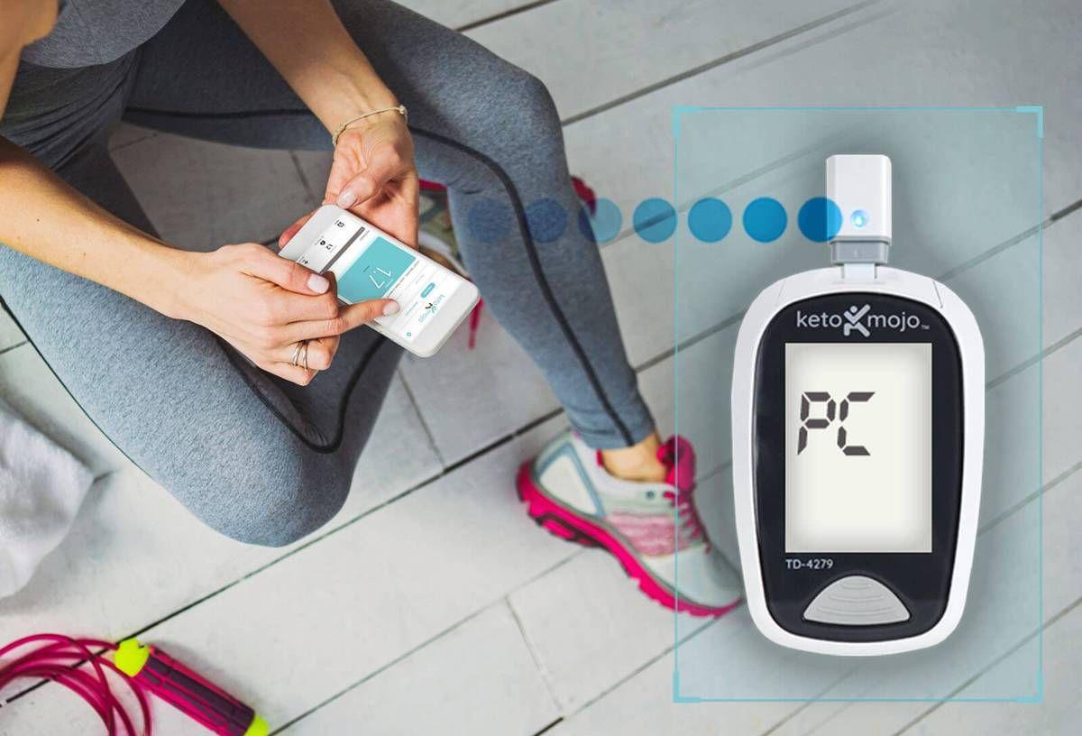 Keto-Mojo App + Bluetooth Connector   health   Keto, Ketogenic diet