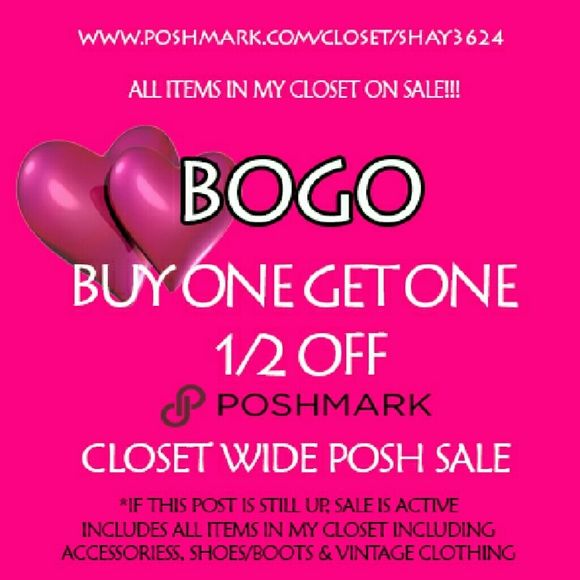 e41a9c05cc Buy One Get One Half Off. Lowest Priced Item is Half Off. Pick your items ( up to 4)