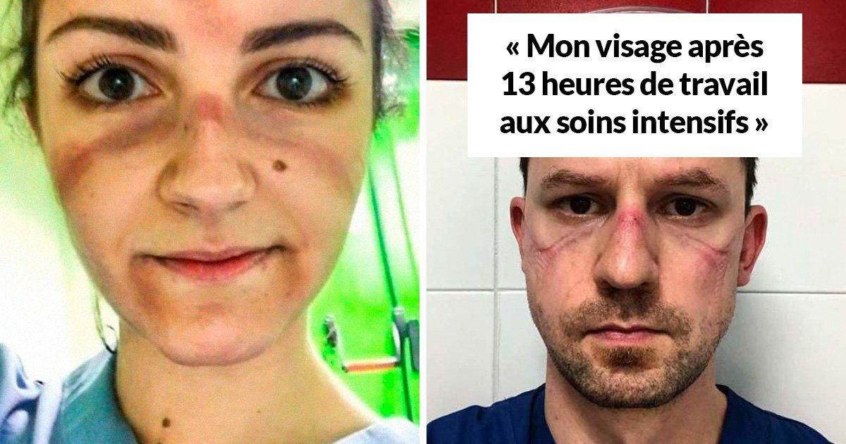Ces photos déchirantes de médecins surmenés sont devenues