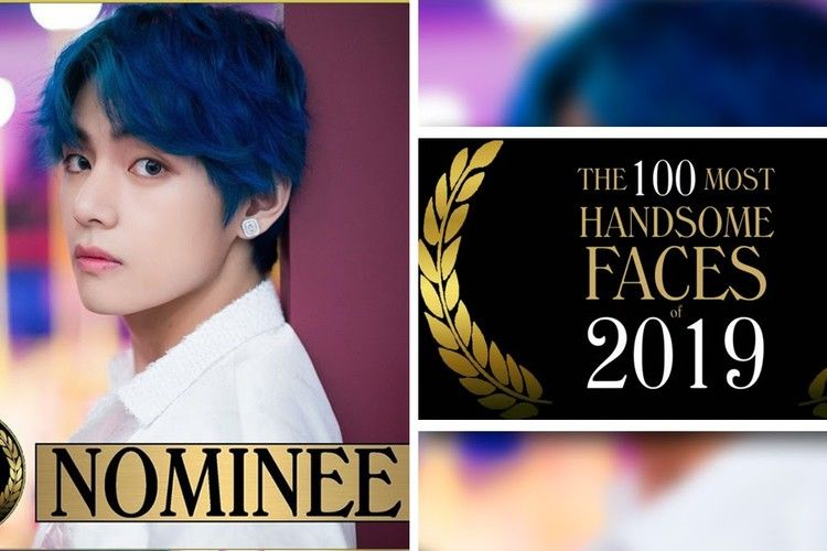 Bts S V Is Nominated For The 100 Most Handsome Faces Of 2019 List Koreaboo Handsome Faces Face Handsome