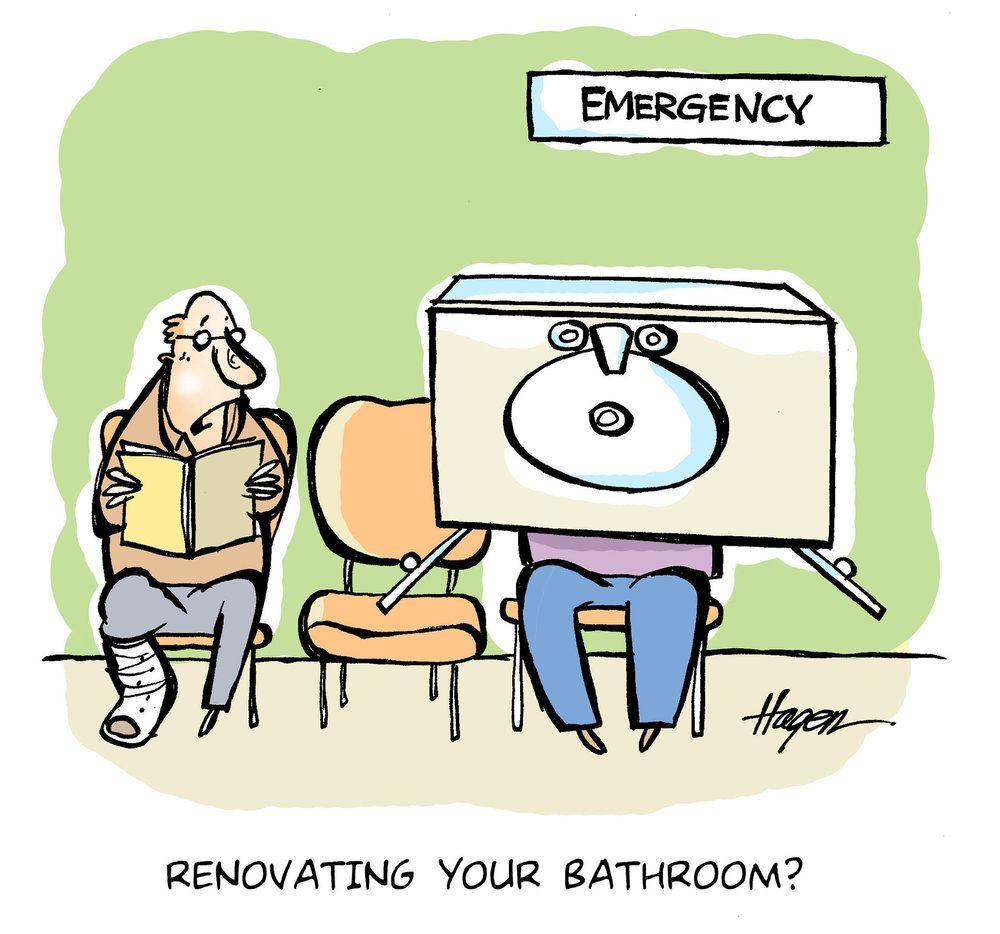 Copy Of Hire A Contractor - Funny Cartoon