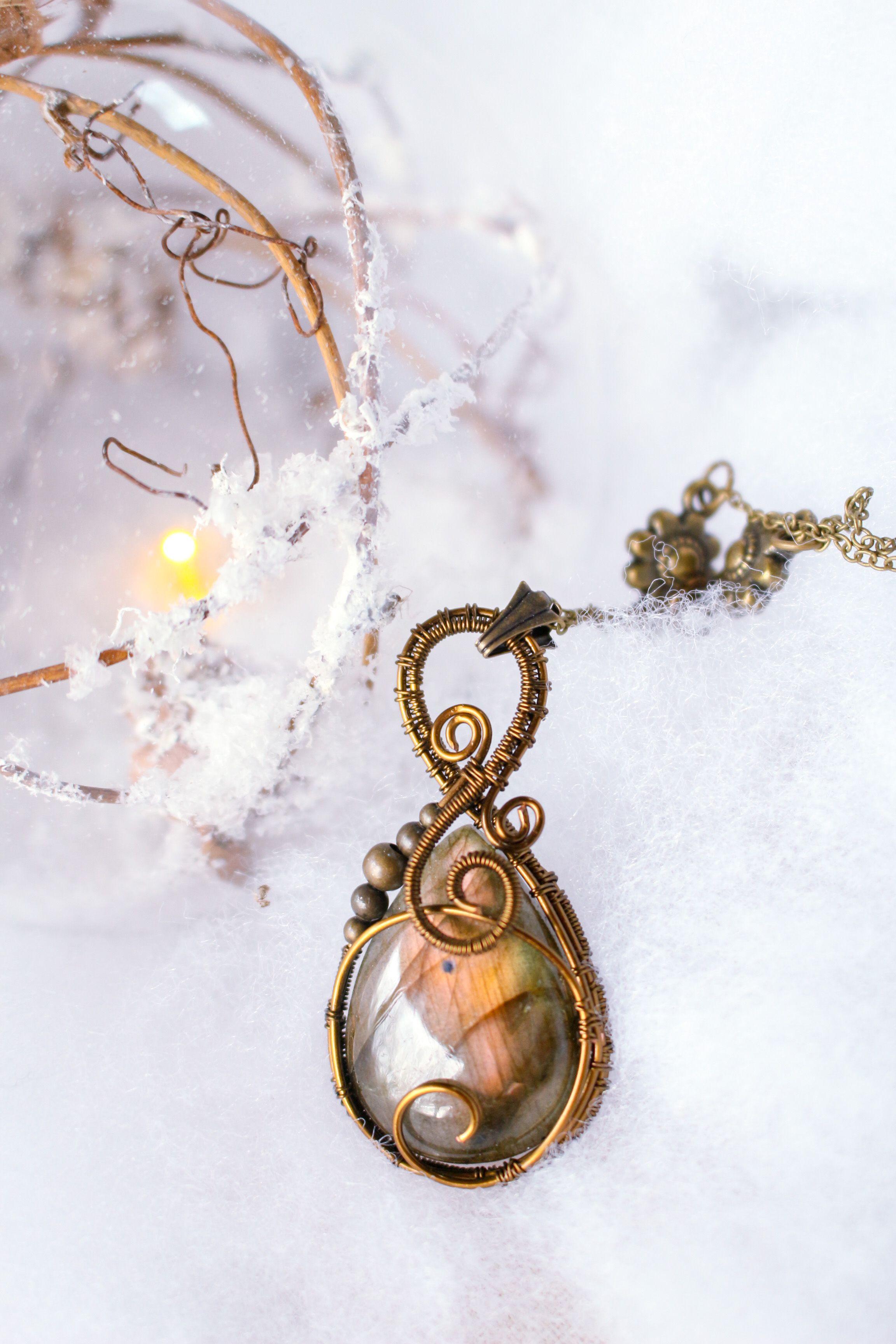 Handmade Jewelry rose bi-couleur Tourmaline gemstone silver Collier Pendentifs