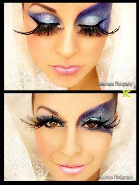 65c87fbabf7 Blind Mag lashes ELISE #404 Long Drama Queen Feather False Fake Eyelashes  KKcenterHk