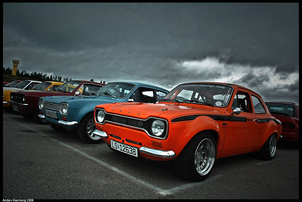 A rather nice example of a Ford Escort Mk 1 | Ford Lincoln Mercury ...