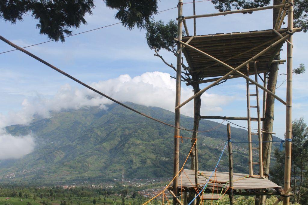 Gardu Pandang Suroteleng Pemandangan Alam Eksotis Di Jawa Tengah Jawa Tengah Pemandangan Alam Tempat