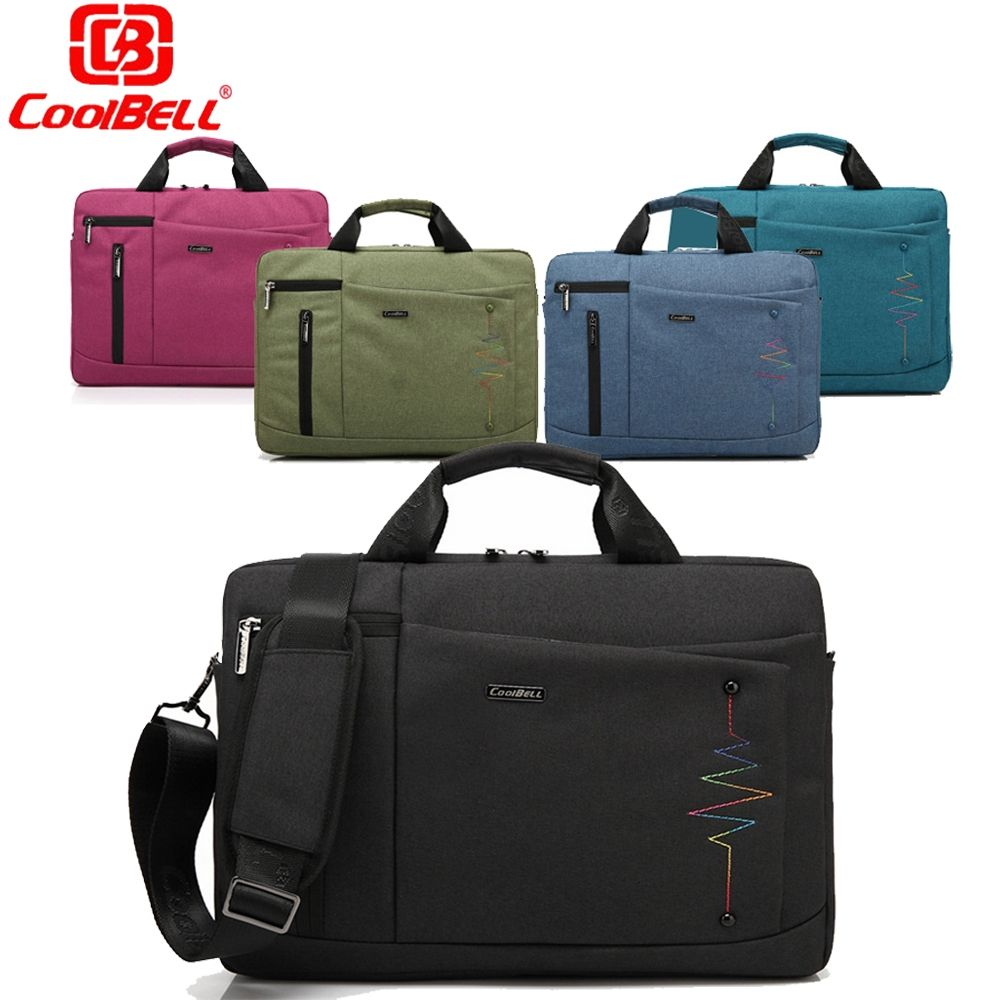 7b44deba9cda CoolBell 14 15.6 Inch Laptop Shoulder Messenger Bag Men Women Handbags  Notebook Bags Crossbody Sling Bags Computer Sleeve Case
