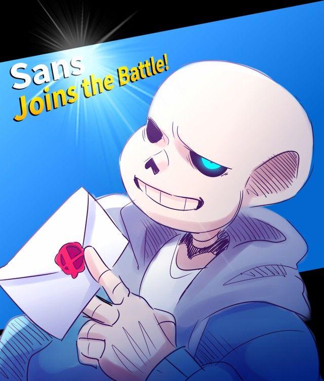 Sans Join The Battle Super Smash Bros Smash Bros Super Smash Brothers