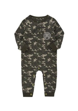 Scotty's Little Soldiers Camouflage Onesie at F&F Clothing
