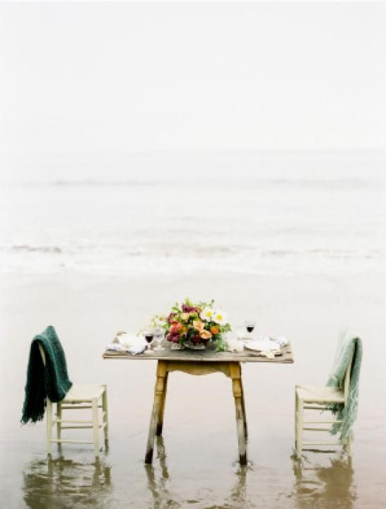 A Summer Seabreeze / Wedding Style Inspiration / LANE Wedding Theme Inspiration / A Summer Sea Breeze / Beach Wedding Decor / The LANE http://www.thelane.com/the-guide/themes/a-summer-seabreeze
