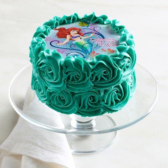 Little Mermaid Cake Mermaid cakes Mermaid and Cake